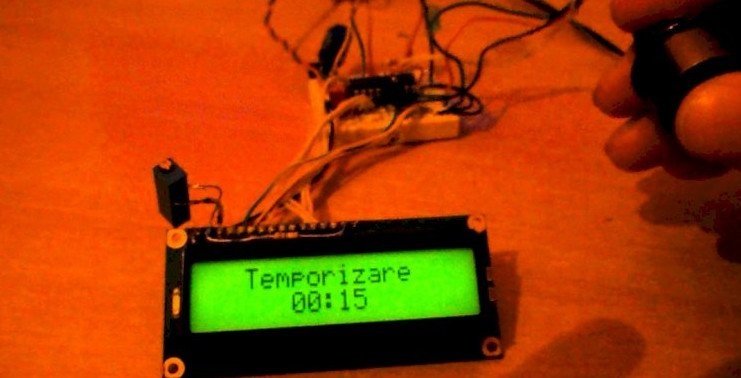 A simple countdown timer on Arduino